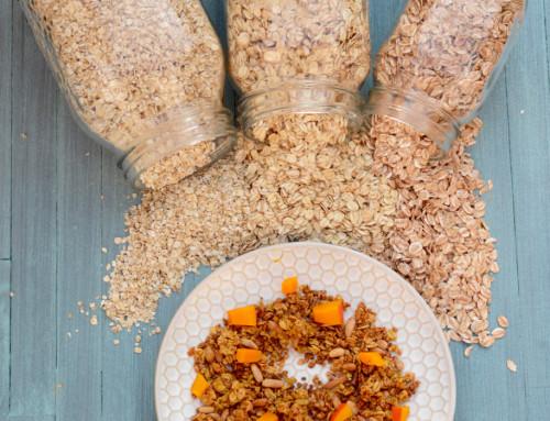 Ein letztes Mal gesund ;-) Pumpkin Spice Granola