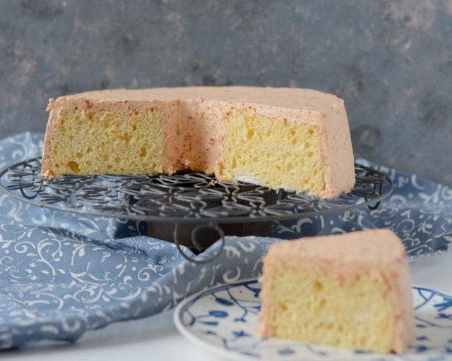 Herzhafter Chiffon Cake mit Parmesan