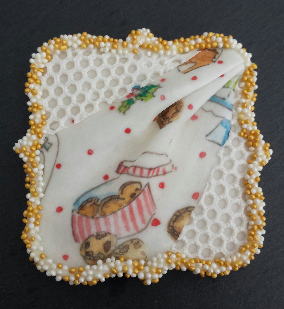 Wafer Paper Cookies Natasha Collins Weihnachtsmotive