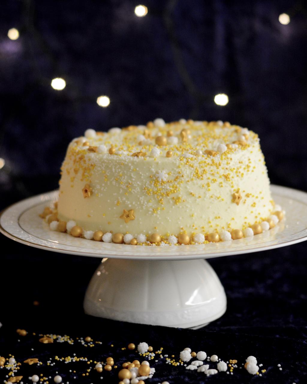 Beschwipster Chiffon Cake mit Glühwein