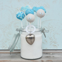 Junge Babyshower hellblau