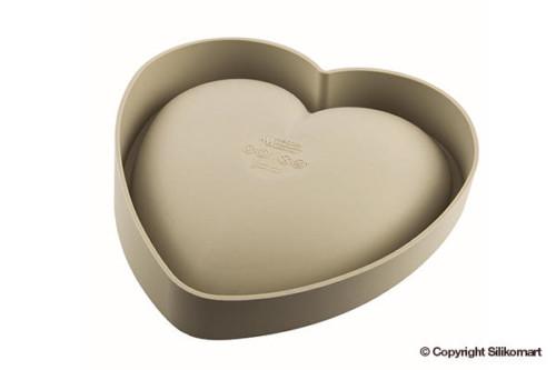 Silikonbackform Herz Silikomart
