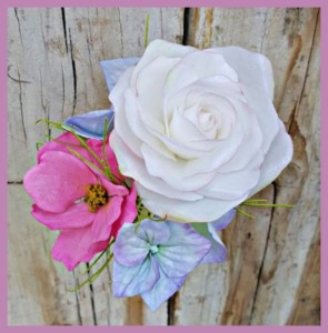 Wafer Paper Blumen Bouquet mit Gabriela Rüscher @ Backstudio der Backschwestern