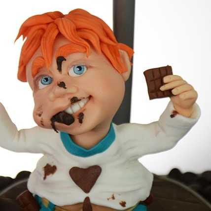 Be Happy eat chocolate Figurenkurs Aufbaukurs Nicola Keysselitz