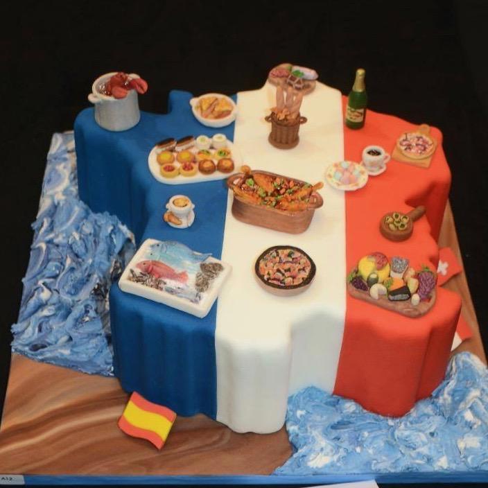 Cake Sensation 2018 Wettbewerbstorte Essen w
