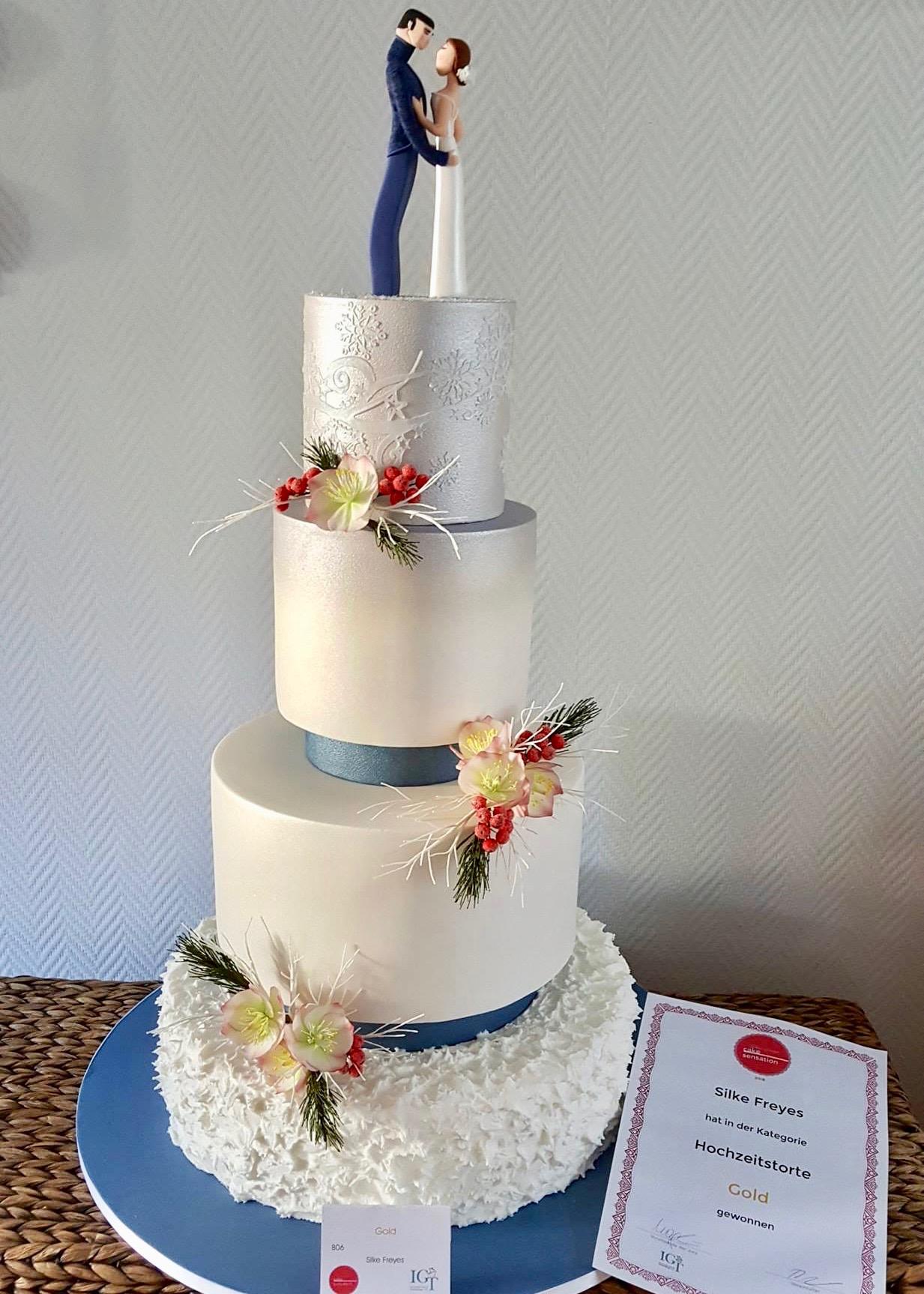 Cake Sensation 2018 Wettbewerbstorte