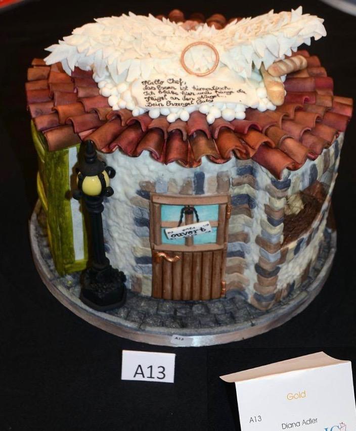 Cake Sensation 2018 Wettbewerbstorte Essen wie Gott in Frankreich