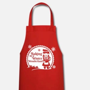 Backschürze Baking in a Winter Wonderland