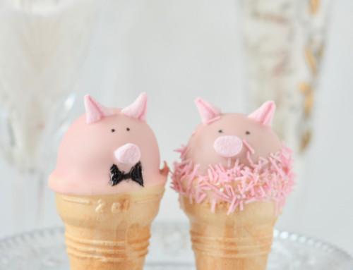 Glücksschweinchen für das neue Jahr