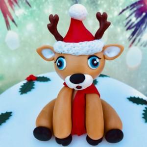 Basiskurs: weihnachtliche Torte mit modellierter Figur @ Backstudio der Backschwestern
