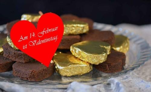 Brownies Valentinstag
