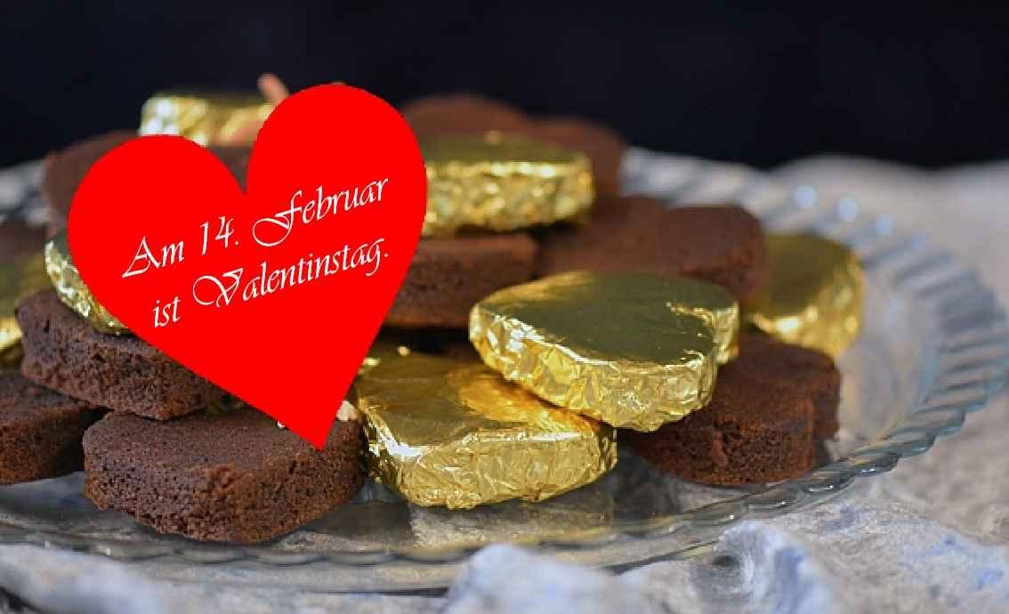 Brownies Valentinstag Herz