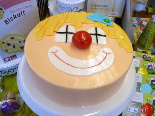 Clown-Torte
