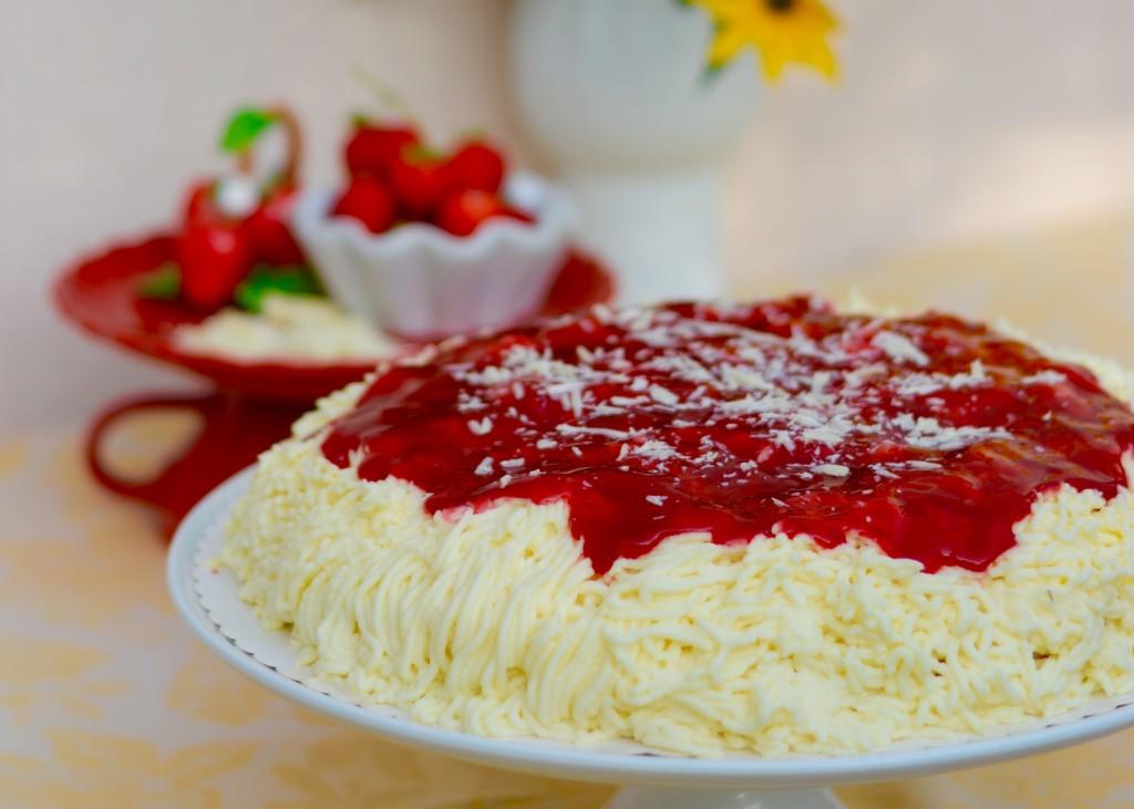 Spaghettieis Spaghettieistorte Torte Backschwestern