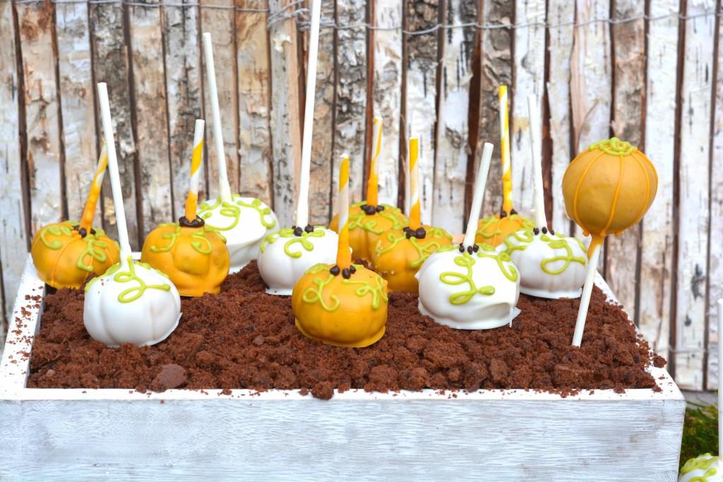 Kürbis Cakepop Pumpkin Cakepops Halloween