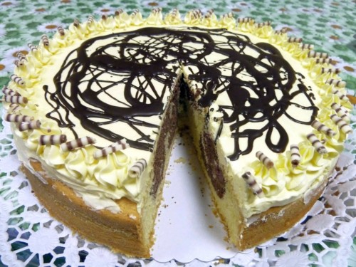 Donauwellen-Kuchen