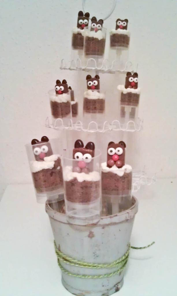 Maulwurf Cake Pops