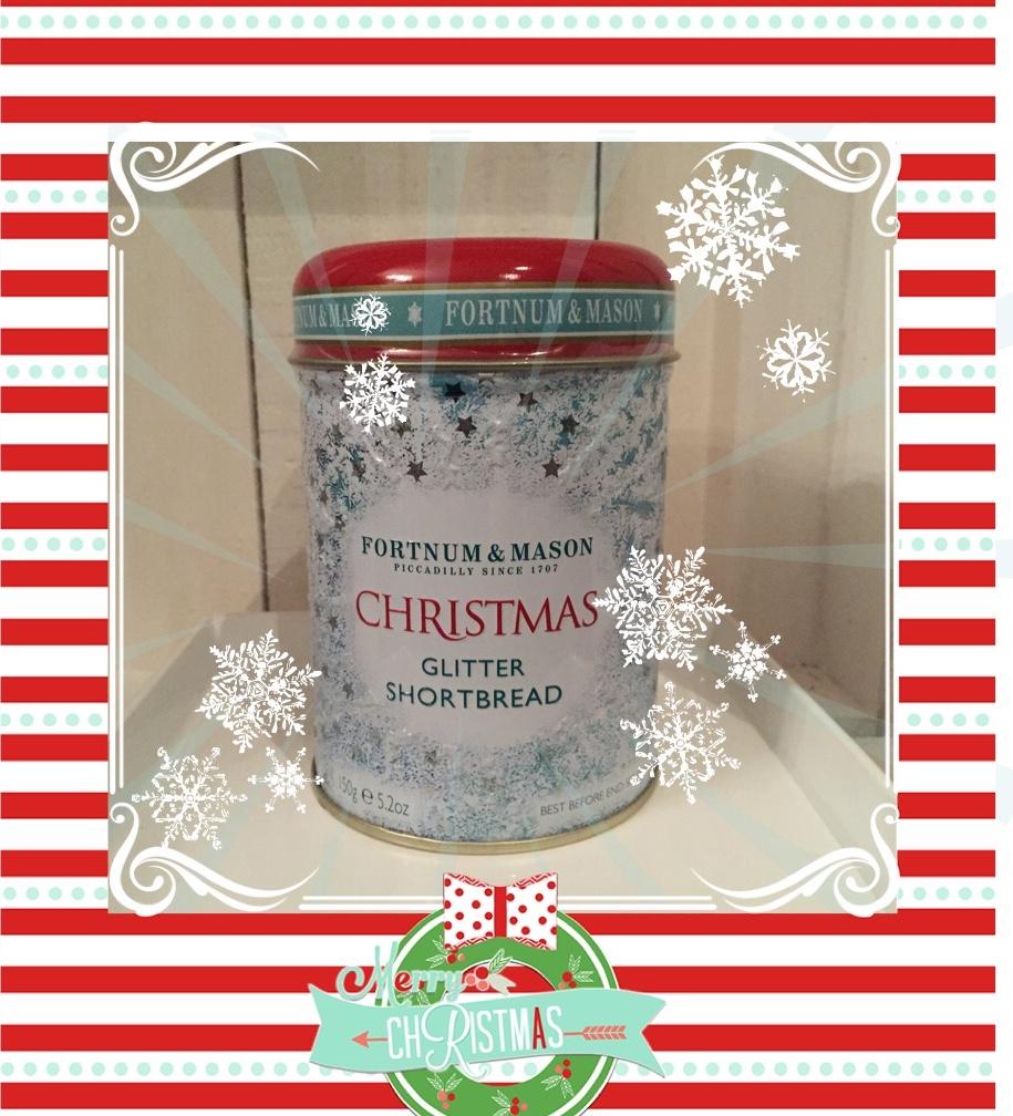 Christmas Glitter Shortbread