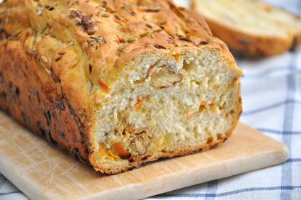 Karotten Nuss Brot