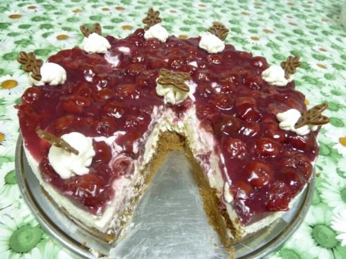 Nougat-Kirsch-Torte